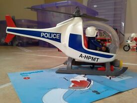 Playmobil police helicopter - 3908