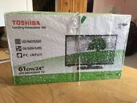 24 inch Toshiba LED tv Brand new in box