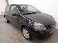 RENAULT CLIO , 2007/57 REG , LOW MILEAGE + FULL HISTORY , YEARS MOT , FINANCE AVAILABLE , WARRANTY