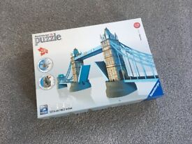 3D PUZZLE London Tower Bridge