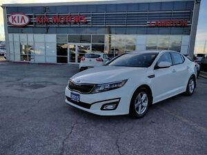 2015 Kia Optima LX PEARL WHITE Warranty to 100, 000km