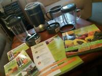 Nutri bullet and accessories