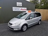 2008 FORD GALAXY ZETEC, 2.0 TDCI, 7 SEATER, SILVER, TWO OWNER CAR, SERVICED, SERVICE HISTORY
