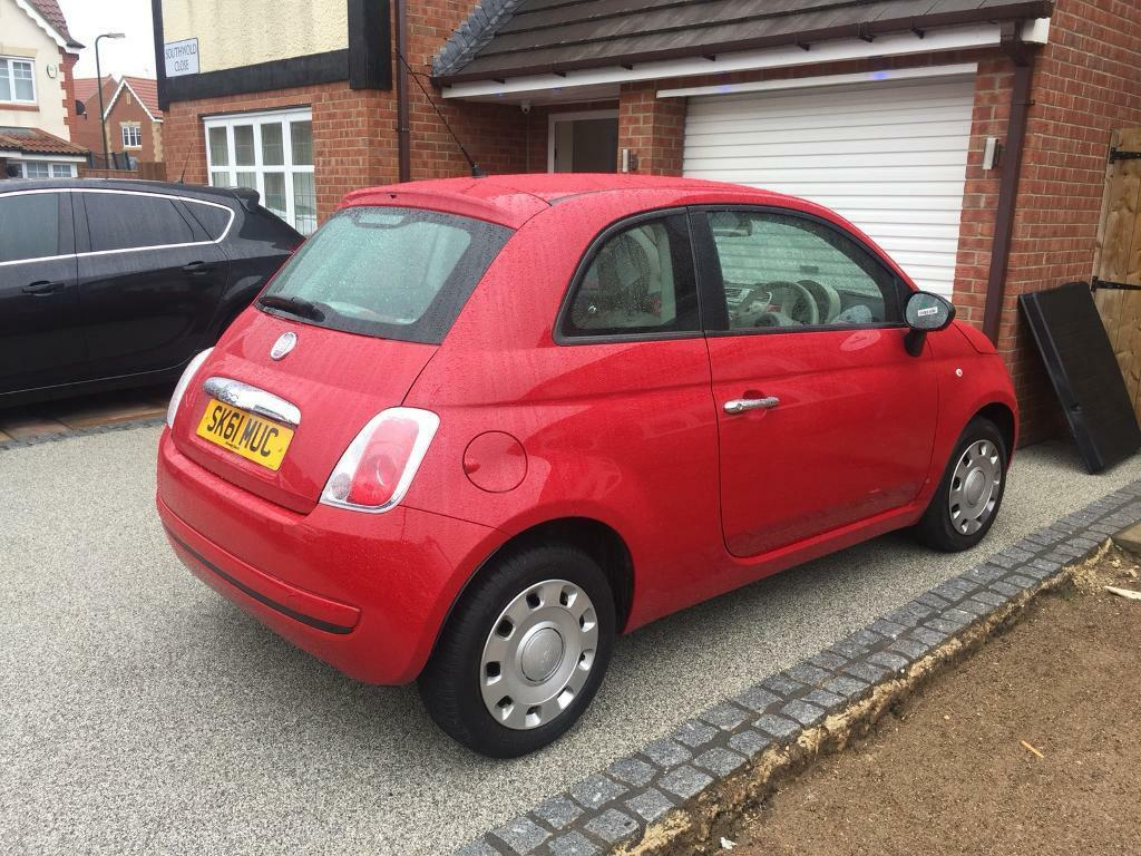 Fiat 500 Pop 12 8v 63k Full Service History In Marton Spare Tire Location