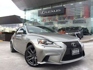 2014 Lexus IS 350 F-Sport Premium Package 1 Owner Navigation Bac
