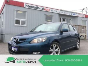 2007 Mazda MAZDA3 SPORT GT | 2.3L | LEATHER | MOONROOF