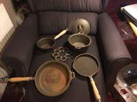 Reduced Cast Iron Cookware set £30.00
