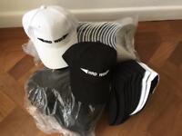 49 baseball caps - HRD/WSH streetwear label
