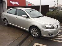 VERY LOW MILEAGE,HPI CLEAR,AUTOMATIC,TOYOTA AVENSIS 1.8 VVTI,TIMING CHAIN DRIVEN ENGINE,ONE OWNER