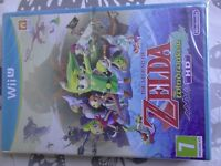 ZELDA THE WINDWAKER HD WII U NEW & SEALED / 1ST PRINT NOT SELECTS / PAY PAL / FREE POSTAGE.