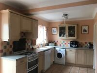 Used Kitchen with Gas Cooker and Dishwasher