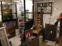 Spaces to Let Within New Antiques/Vintage/Homeware Shop in Syston Leicester