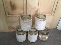 Rustic jars - wedding