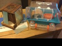 Like new hamster cage and activity area £15 chadwell heath