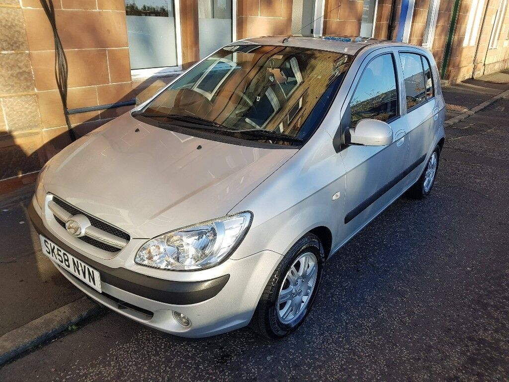 Hyundai Getz 1.4L for sale, great condition, perfect first car