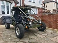 2008 ROAD LEGAL GOKA 250cc BUGGY ATV QUAD BIKE OFF-ROADER (not Yamaha raptor, quadzilla, spyracing)