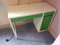 Green Ikea Desk