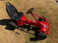 Kettler Peddle Go Kart solid metal frame in great condition