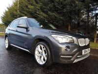 JUNE 2014 BMW X1 XDRIVE 20D XLINE AUTOMATIC 181BHP 21,000 MILES! SAT-NAV HEATED SEATS AND STEERING !
