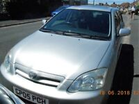TOYOTA COROLLA, 2.0 LT, T SPIRIT. 11 MONTHS MOT . VERY RELIABLE CAR WHICH I HAVE OWNED SINCE 2012