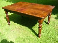 Victorian pine kitchen table