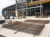 Steel fixing work in West Midlands (Birmingham)