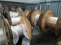 Cable drums large from 1400mm to 1800mm approx 20 to choose from