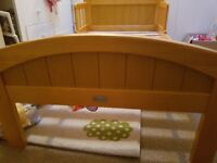 Toddler bed kiddicare country style