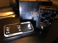 Digitech TRIO Band Creator Guitar Effects Pedal FS3X Footswitch