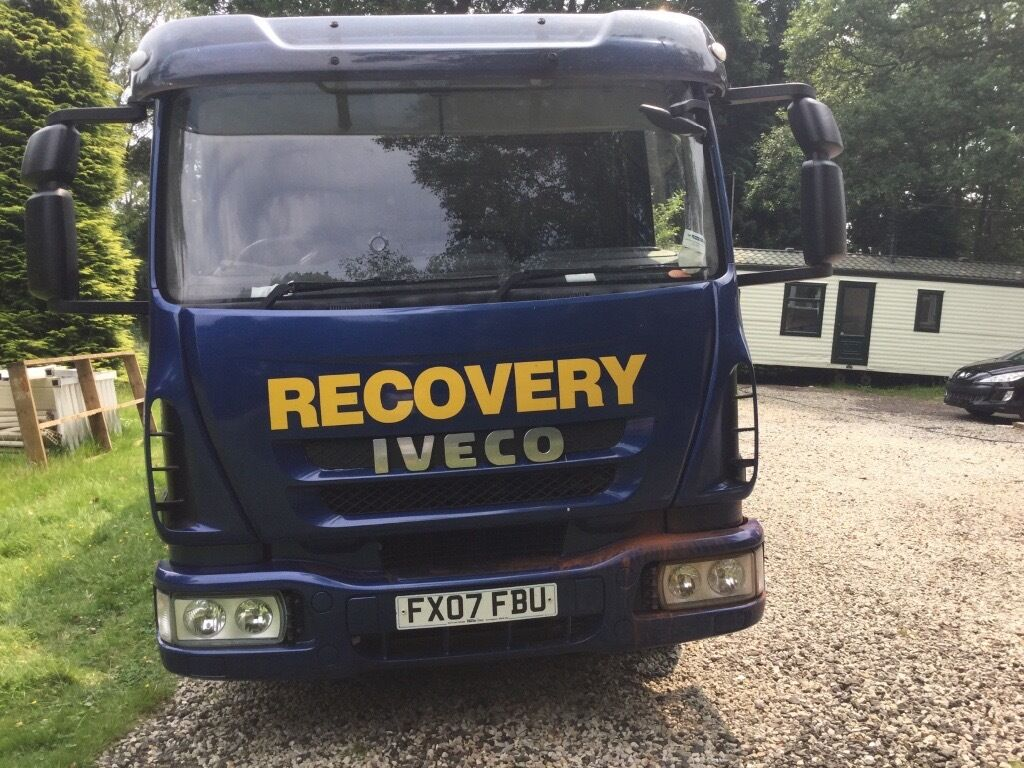 Iveco/ Eurocargo recovery lorry 7.5 ton
