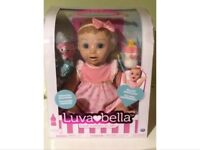 Brand new boxed luvabella blonde doll