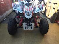 500cc Road legal quad for sale. Quadzilla 500 with suburu engine