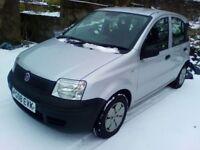 2008 Fiat Panda, low miles, excellent condition.
