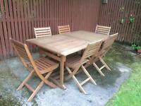 Garden Furniture, table & chairs