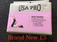 Brand new Resistance Body Bands by USA Pro