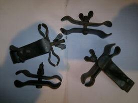 Metal Clamps Multi-Use - Set of 10 (Metal/Plastic Pipes, Auditorium Chairs etc.)