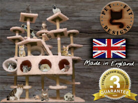 Cat & Kitten furniture, tree, activity centre, scratcher made in England