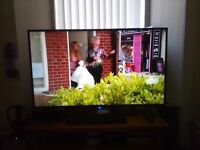 """50"""" LCD TV with Frteeview live HD £220"""