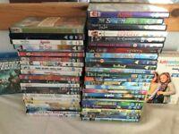 50 x CHILDREN's DVD's Rated U, PG & 12+ Some Classics Family Film