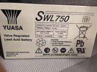 Yuasa Swl 750 10.8 V 22.9 Ah