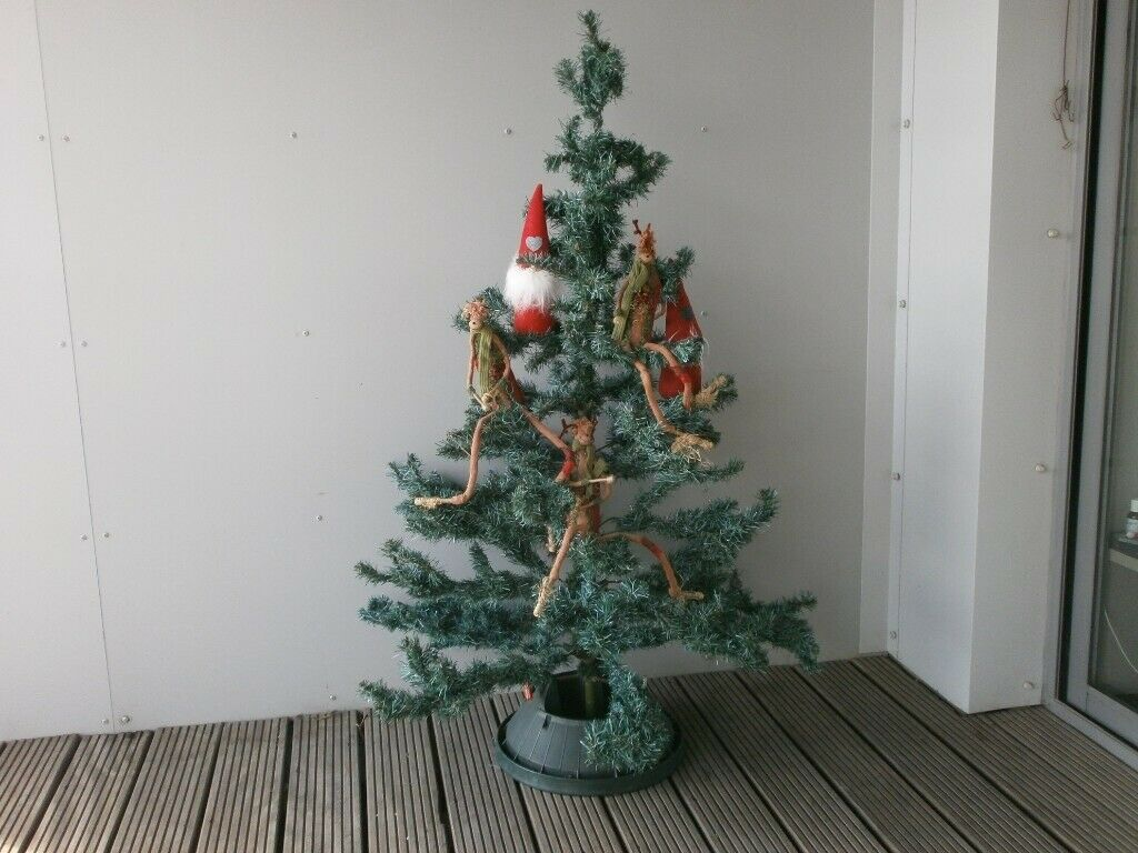 Christmas Tree Hinged Branches With Stand Stand 5 Ft Plus Monkey Gnome Decs In Plymouth Devon Gumtree