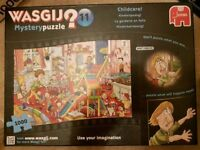 Wasjig Childcare No 11 1000 piece immaculate jigsaw puzzle