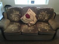 3 seater and 2 seater settee's