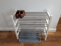 IKEA TJUSIG shoe rack. Option to buy up to 3 and stack them.