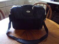 LEATHER antler laptop bag
