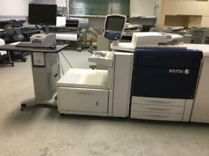 Xerox 770 700i Digital Color Press Production Print Shop Printer Copiers - AUTOMATIC DUPLEX UP TO 300 GSM - Lease to Own