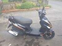 50cc, 2 stroke, scooter for sale. low mileage