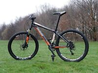 Specialized Rockhopper M4. Perfect working order. Great Mountain Bike. 27 sp. Hydraulic Brakes.
