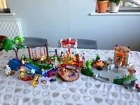 Playmobil playground 4070 & ice cream parlour 4134