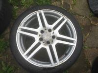 18 inch Mercedes Amg alloys